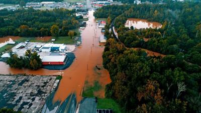 Riverdale flood plain