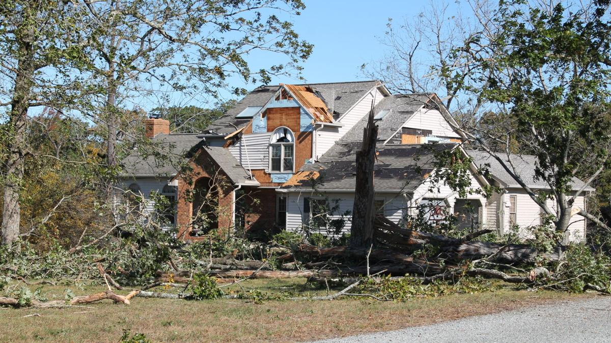UPDATE: Winds up to 115 mph — not a tornado — rocked parts of Halifax County on Monday night