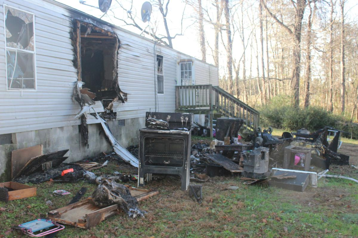 man dies after mobile home fire saturday in alton local news