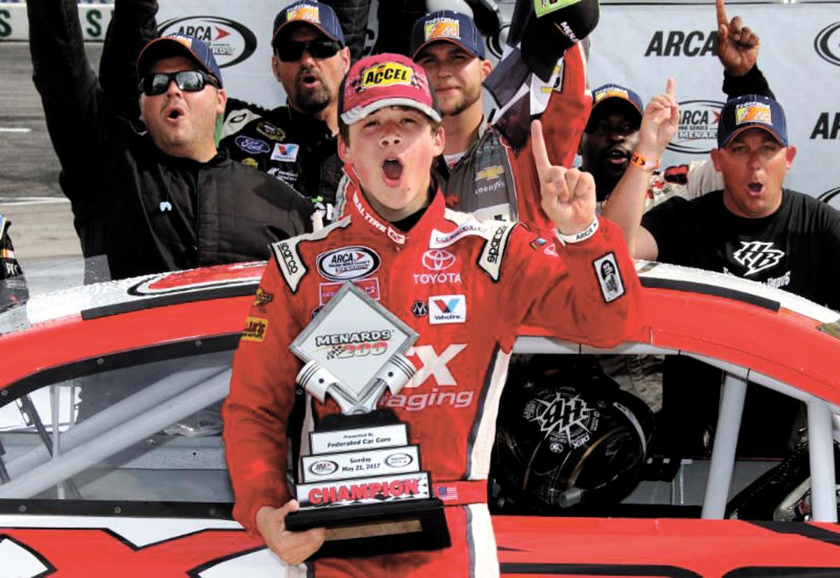 Harrison Burton Sails To Victory At Toledo Racing
