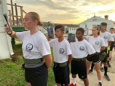 Alton teen lives military life at 'Encampment'