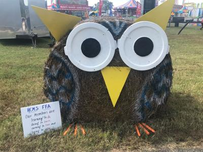 2018 Halifax County Fair Hay Bale Decorating Contest winner