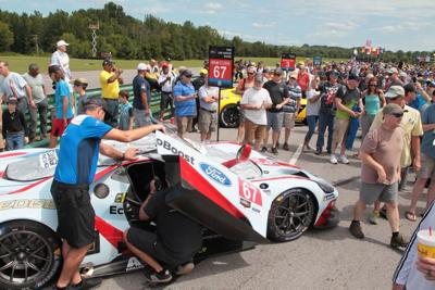 Large crowd attends VIR race Sunday