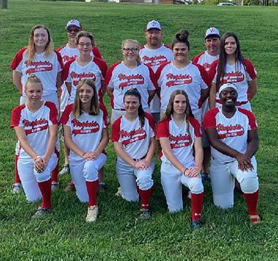 Halifax County Dixie Softball all-star Debs