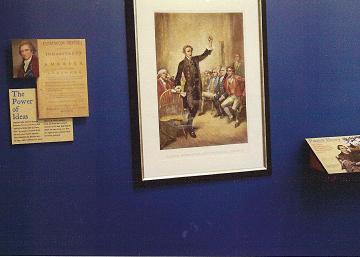 Crossing of the Dan exhibit at museum opening