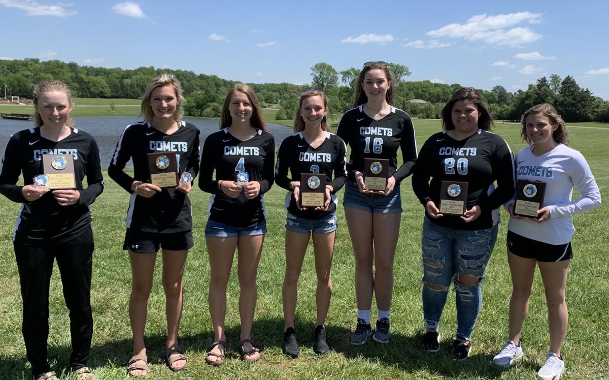 Varsity volleyball awards