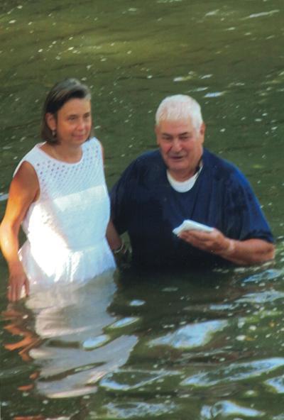 Oold-fashioned baptism