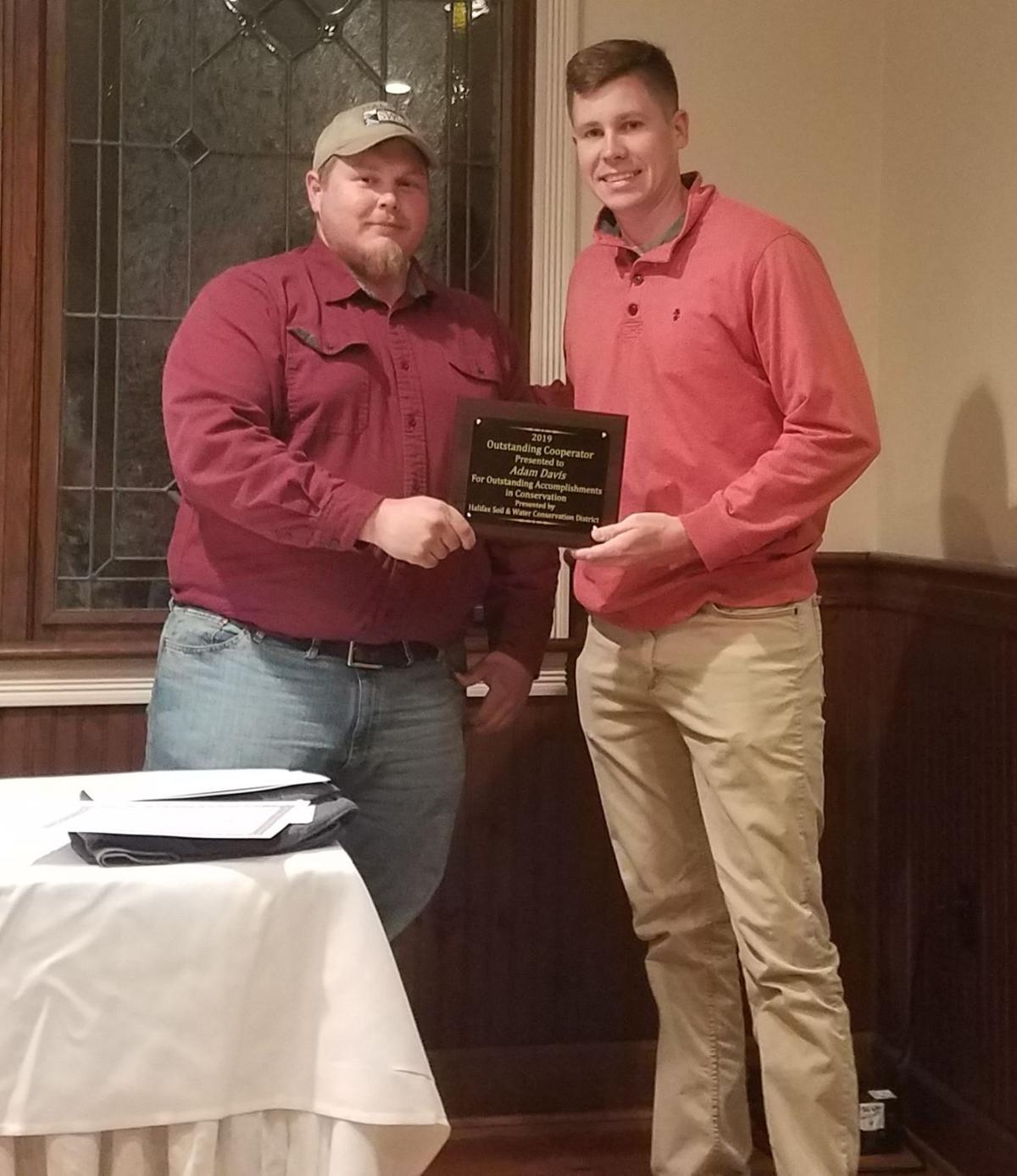Outstanding cooperator award