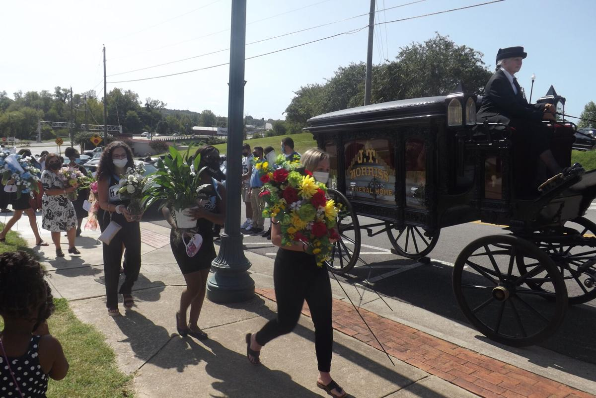 Justyce's funeral